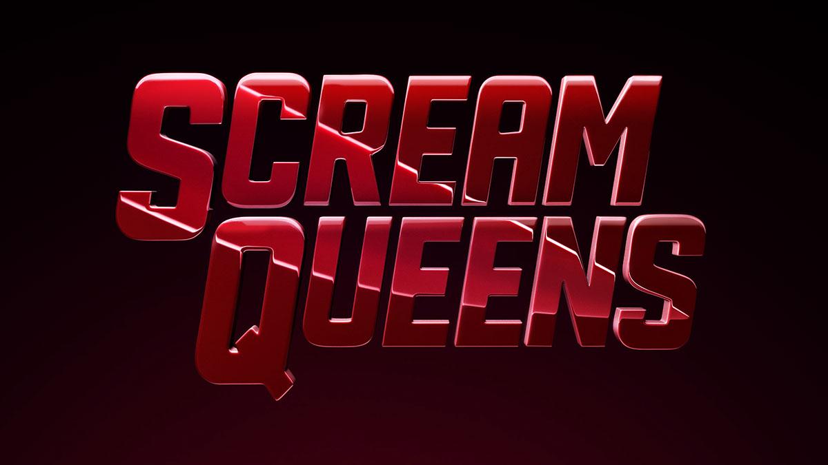 Adobe Portfolio SCREAM QUEENS FOX motion design logo development