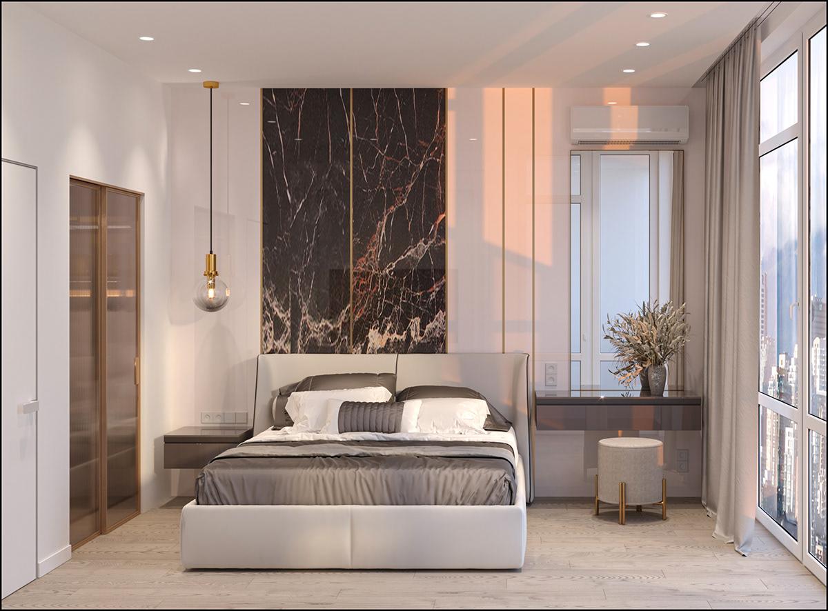 apartment bathroom bedroom interior design  kitchen living room visualization дизайн интерьера дизайнукраїна