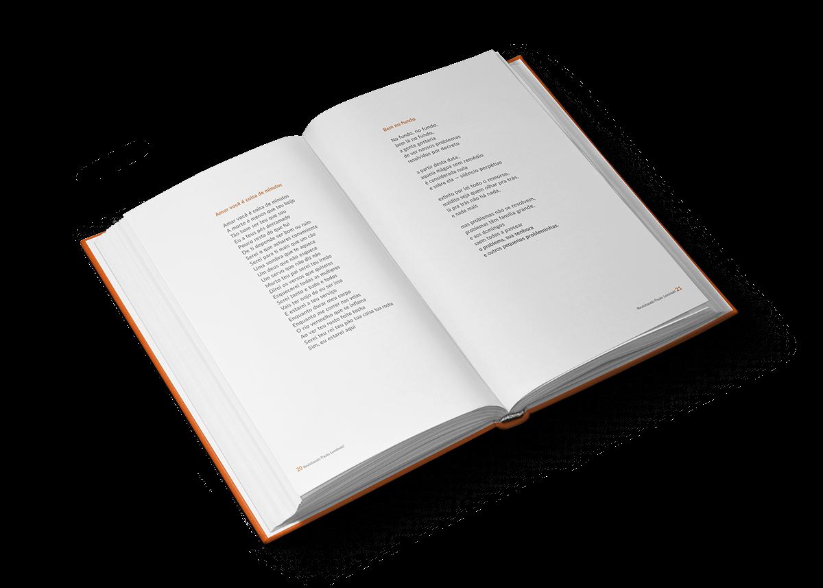 Livro paulo leminski leminski  Livro de Poesias poema poesia UFRJ editorial