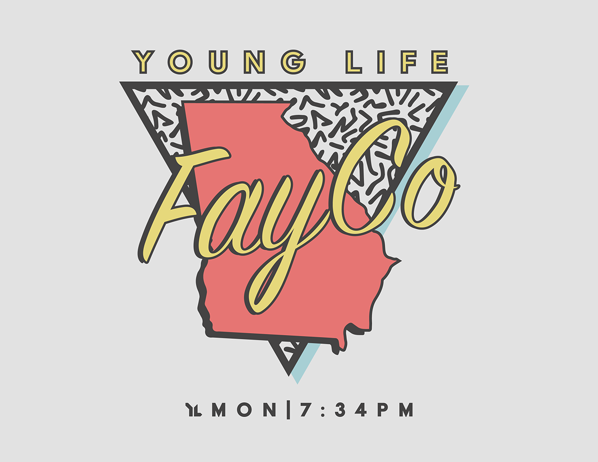 Young Life Club Shirt '18 on Behance