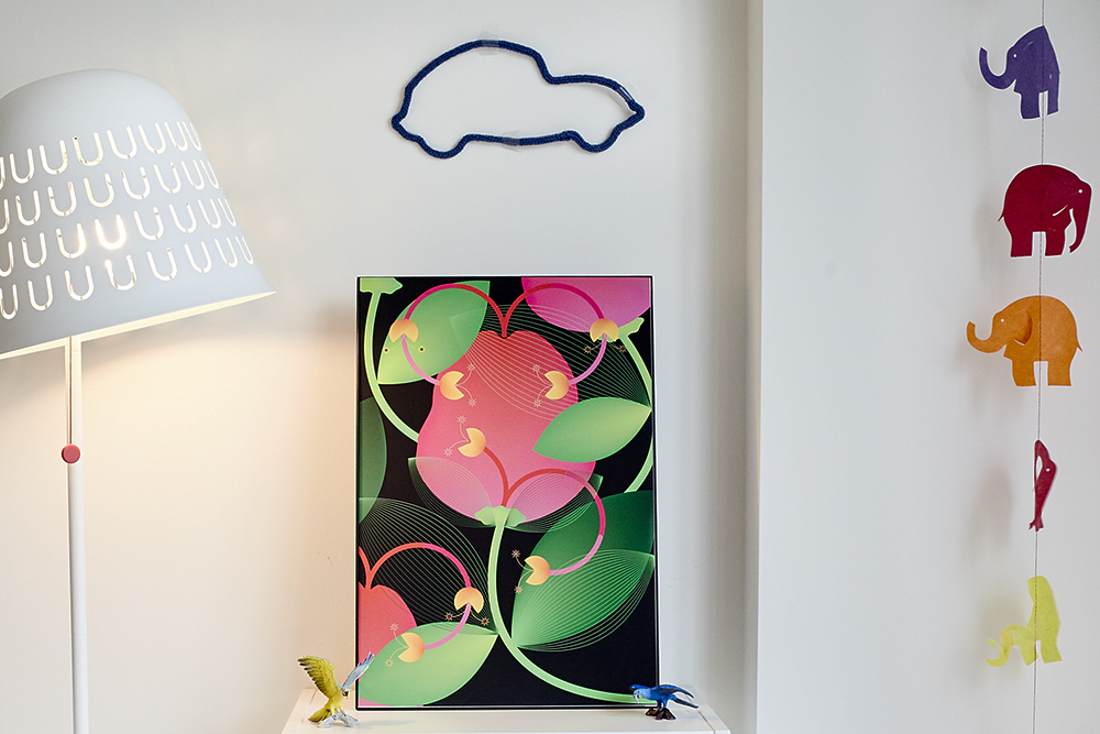 poster ILLUSTRATION  Flowers jungle wild home decor