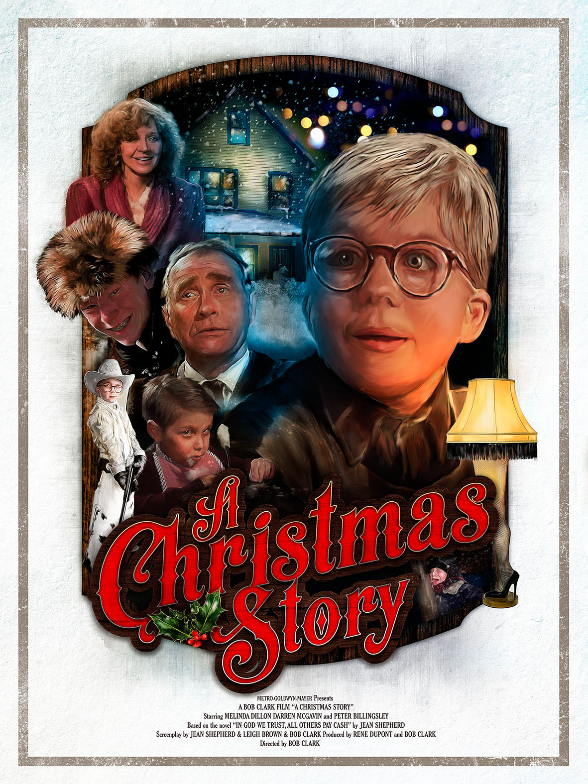 a christmas story on behance - The Christmas Story Movie