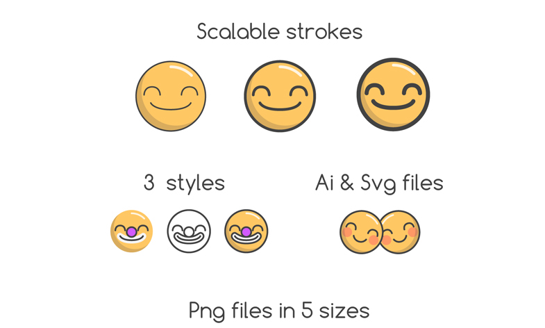free Emoji Vector Design Pack