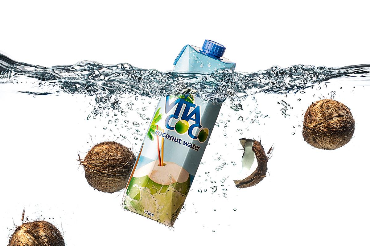 still life Product Photography Advertising  retouching  Matt Geeling Vita Coco