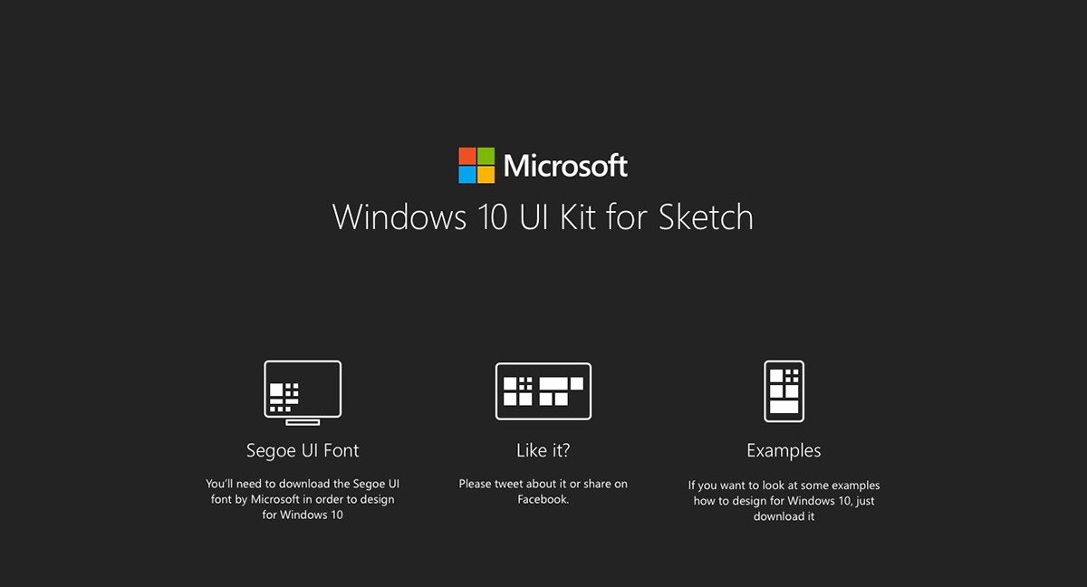 Windows 10 UI Kit for Sketch on Wacom Gallery