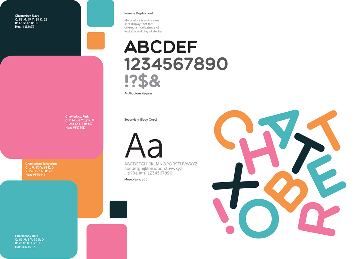 Chatterbox! on Behance