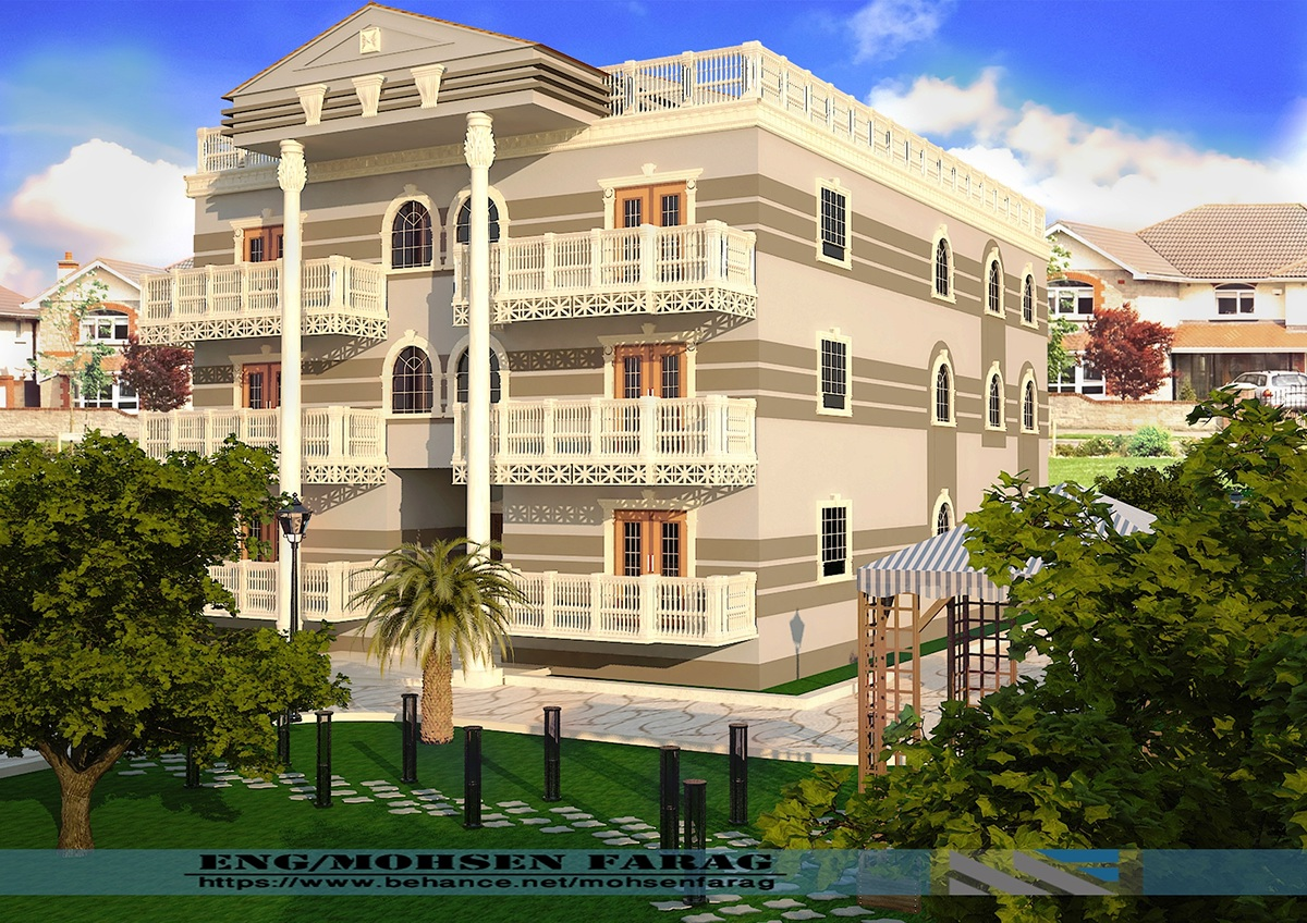 Mr Hassan Youssef Hassan Private Villa On Behance