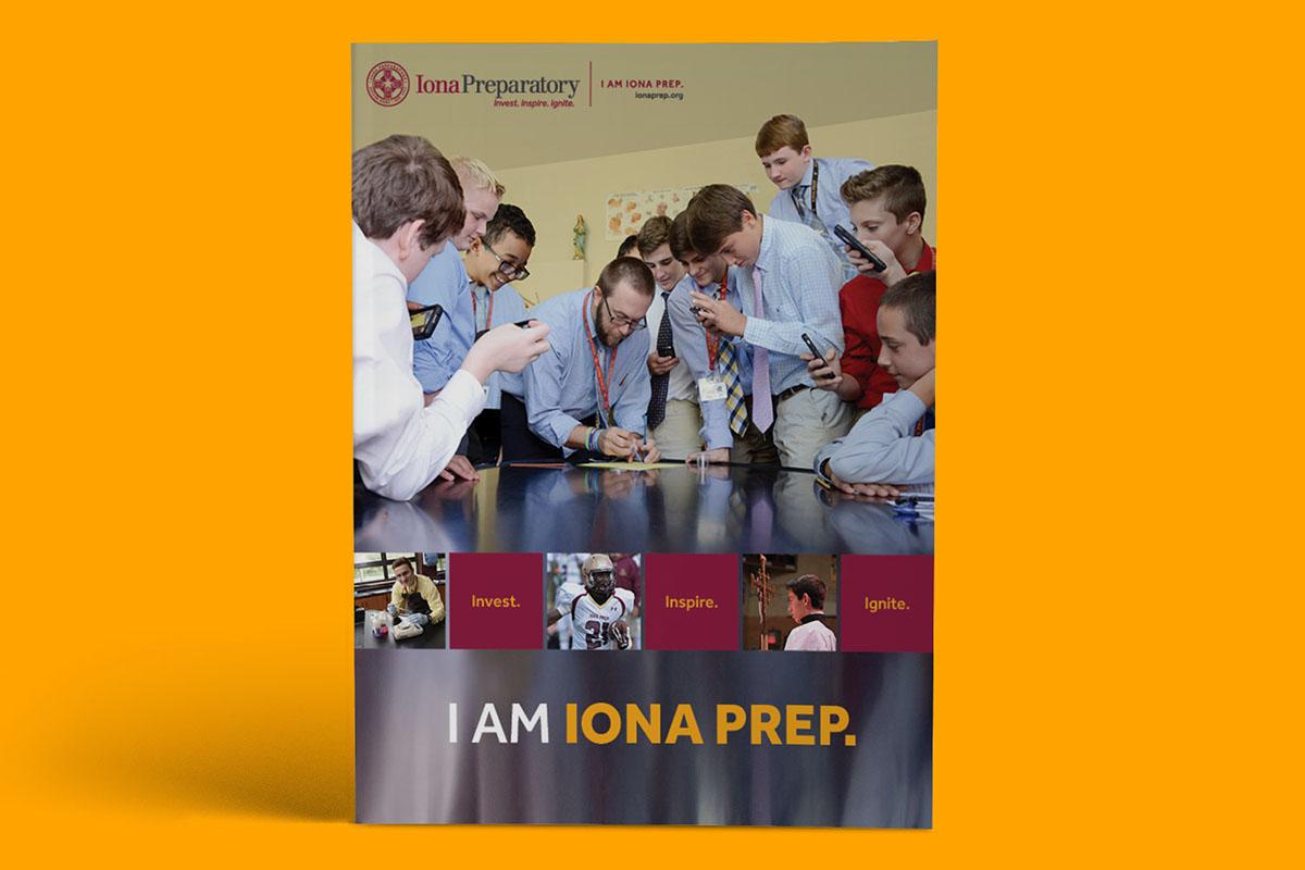 I am Iona Prep  on Behance