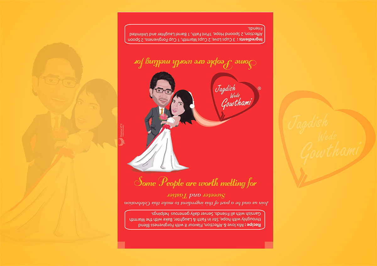 Creative Wedding Invitation Design on Behance
