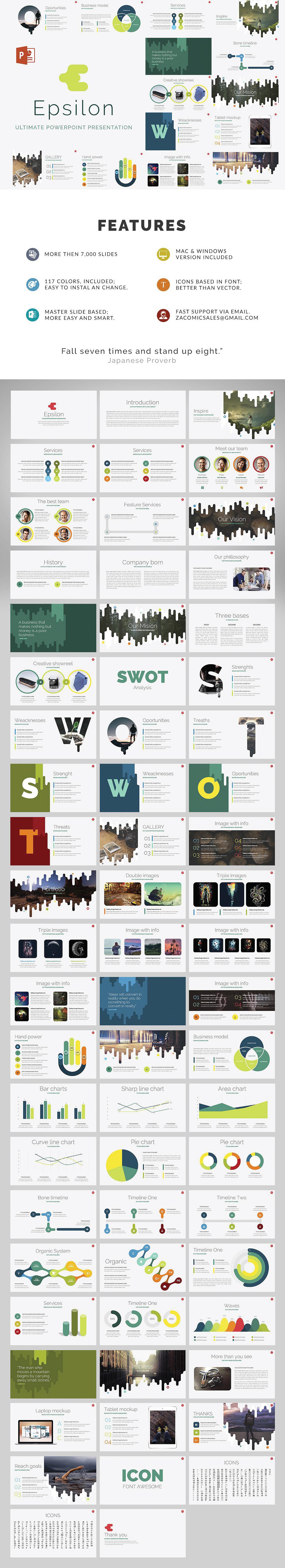 Epsilon free powerpoint template on behance toneelgroepblik Image collections