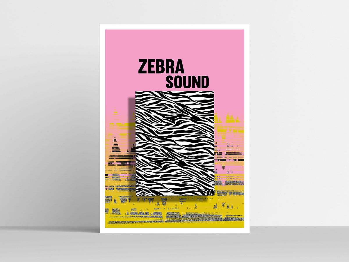 Zebra sound - plakat on Behance
