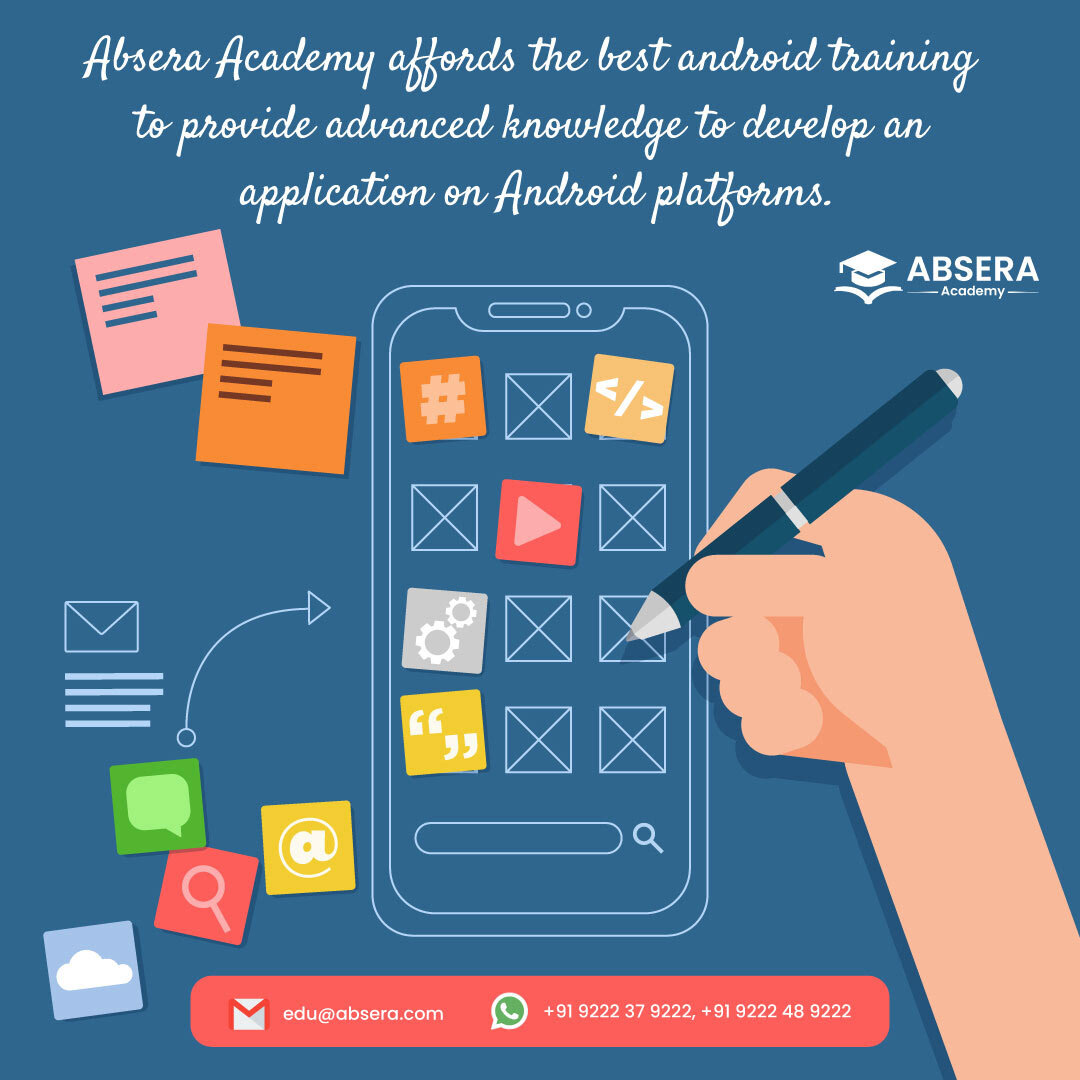 AbseraAcademy android AndroidCourse AndroidTraining apps Mobileapps