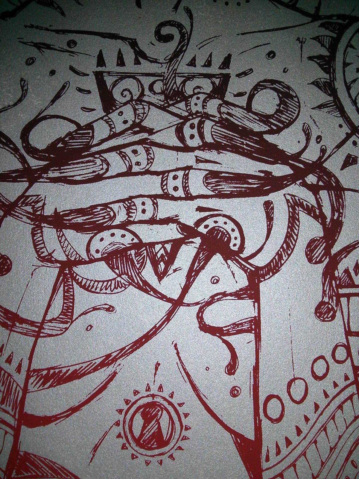 Line Art Limited : Line art serigraphs on behance