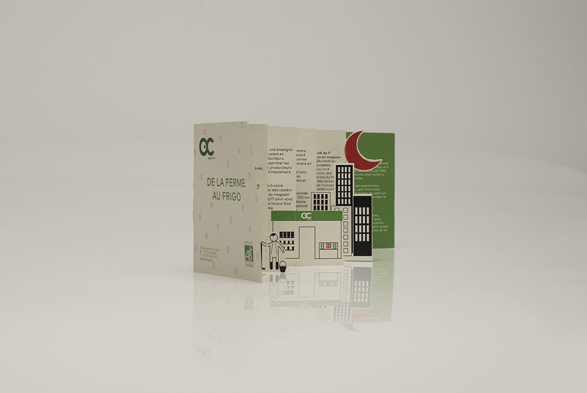 branding  Packaging green city Advertising  bio local stationary RECYCLED paper