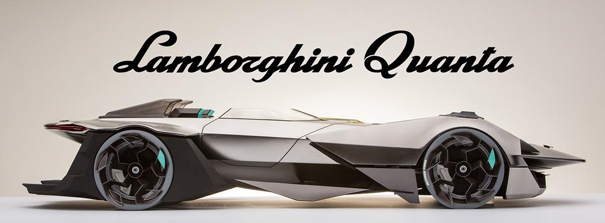 Lamborghini Quanta Hard Model On Behance