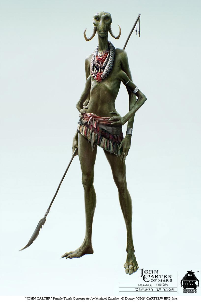 Character Design Concept : John carter character design and concept art on behance
