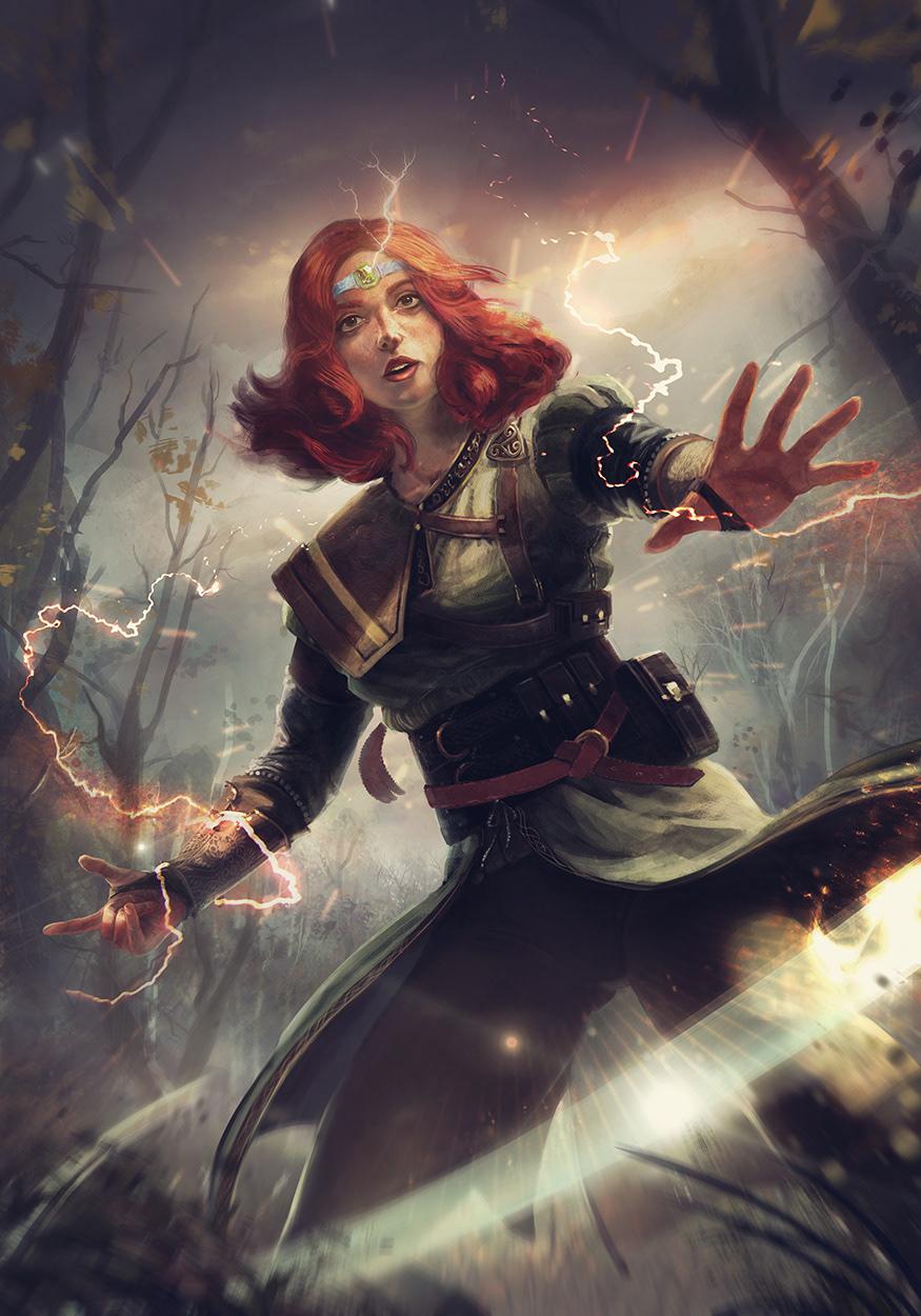 Visenna The Witcher Gwent Fan Art On Behance