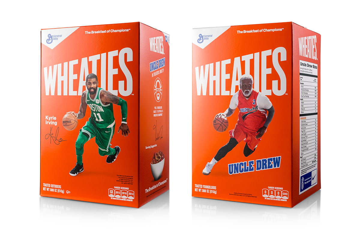 917bde03db2 Uncle Drew Wheaties Kit on Behance