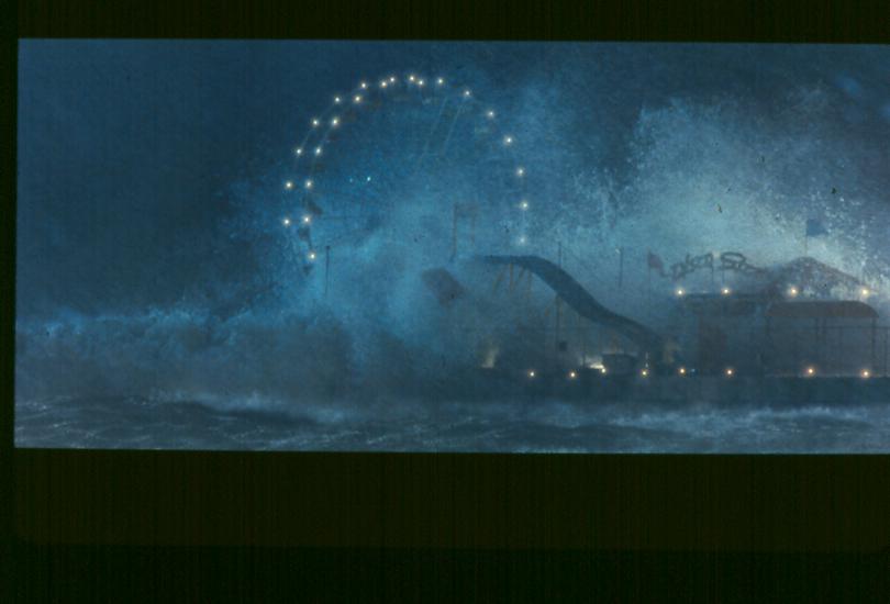 Adobe Portfolio Snake Eyes tidal wave