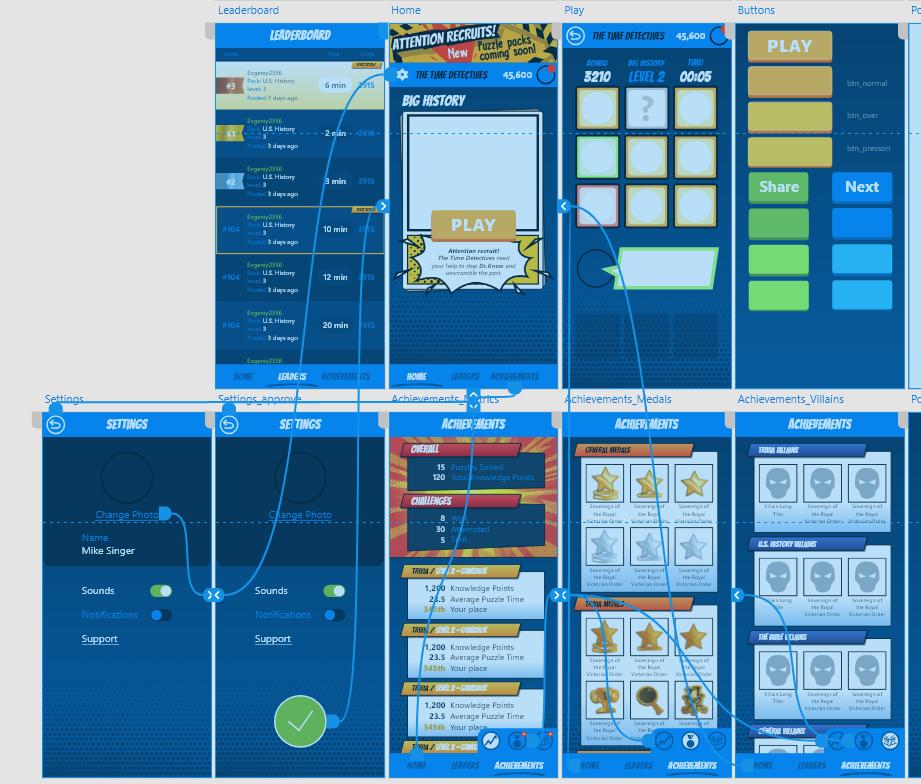 UI ux game design  Game Art