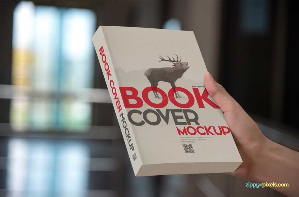 Beautiful Collection of PSD Book Cover Mockups on Behance