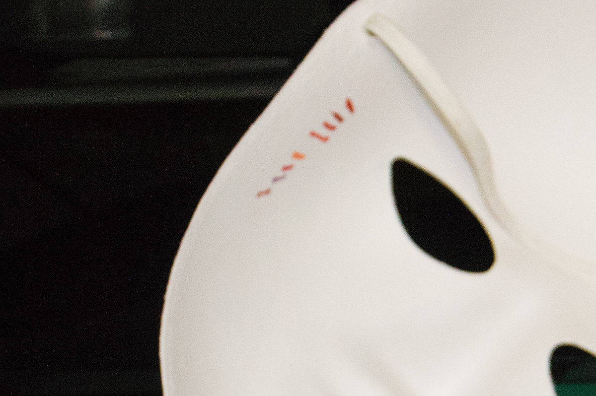 Theatre mask Romeo juliet japan japanease