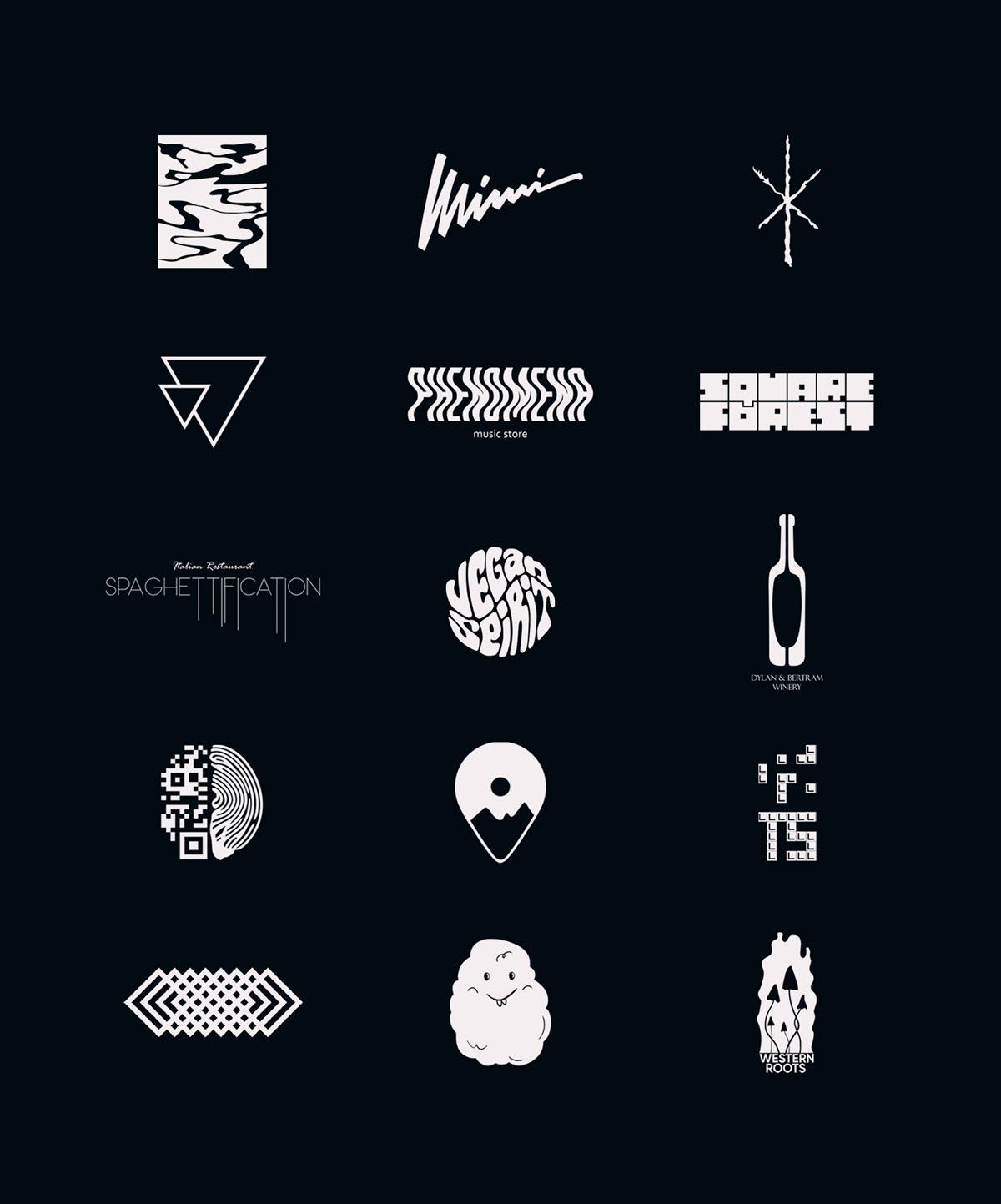 branding  Branding Designer logo logo collection logo set logofolio logos Logotype marks portfolio