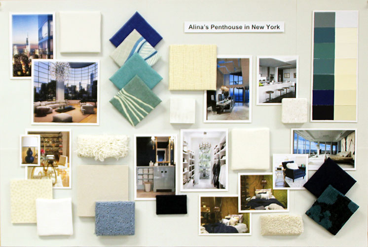 Introduction To Interior Design Concept Board On Behance