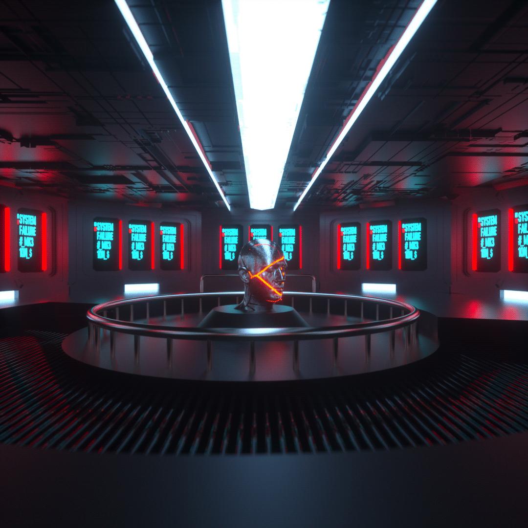 3D c4d art Digital Art  graphic design  sci-fi