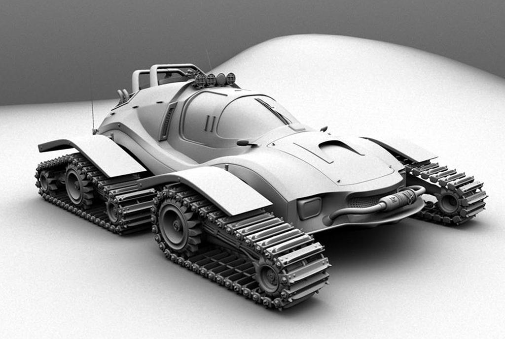 Maya concept Vehicle