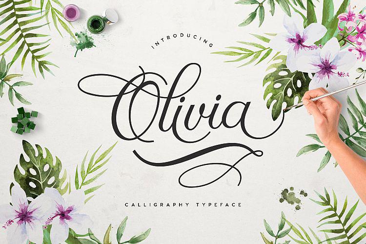 FREE Olivia Script Font On Behance