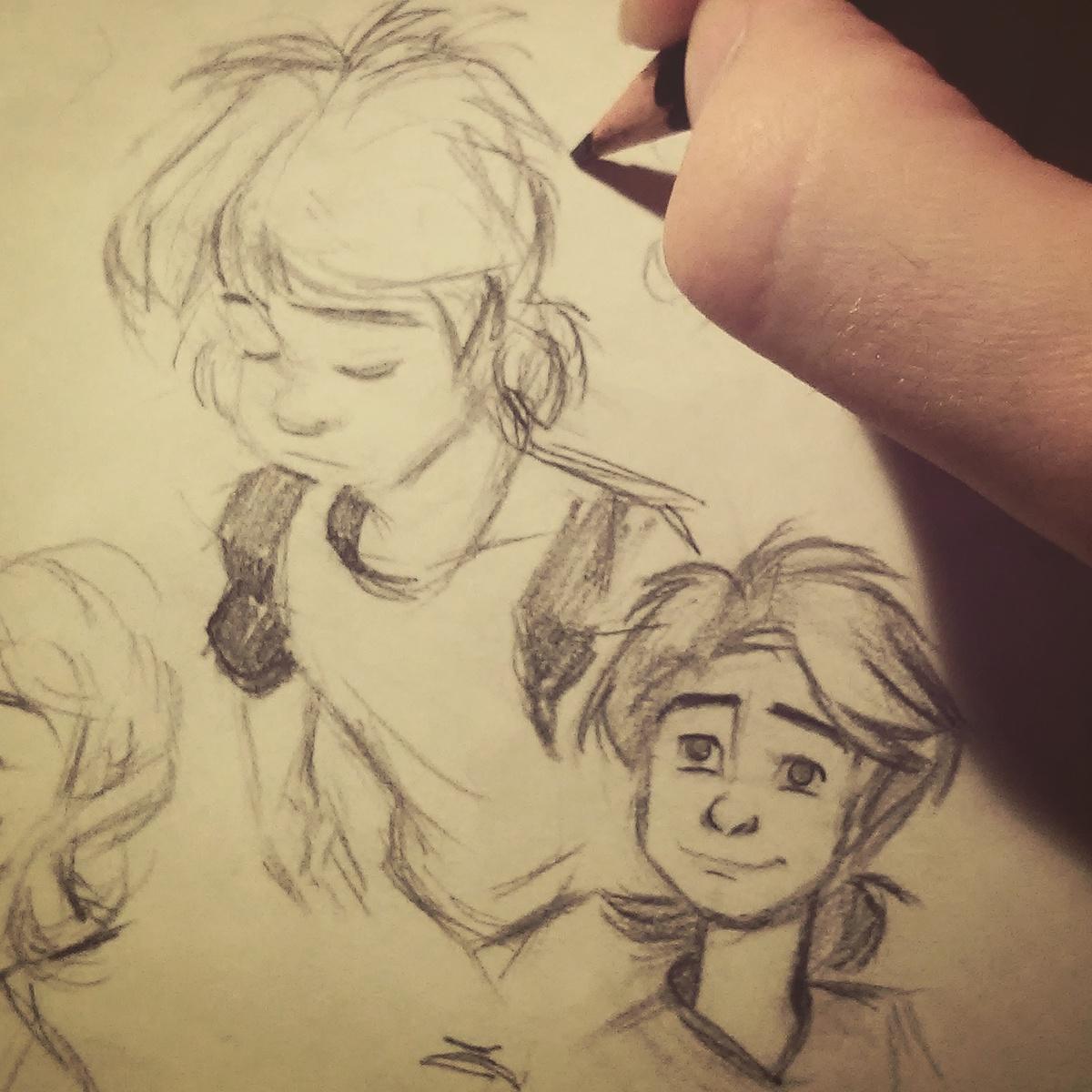 Character design  childrens illustration animation  short film