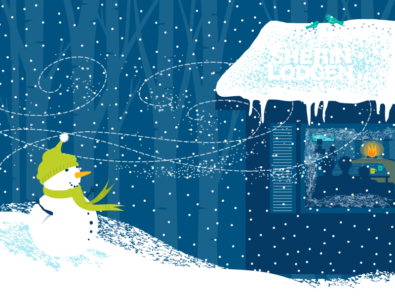 Holiday Cards Online >> Animation Online Holiday Cards On Behance
