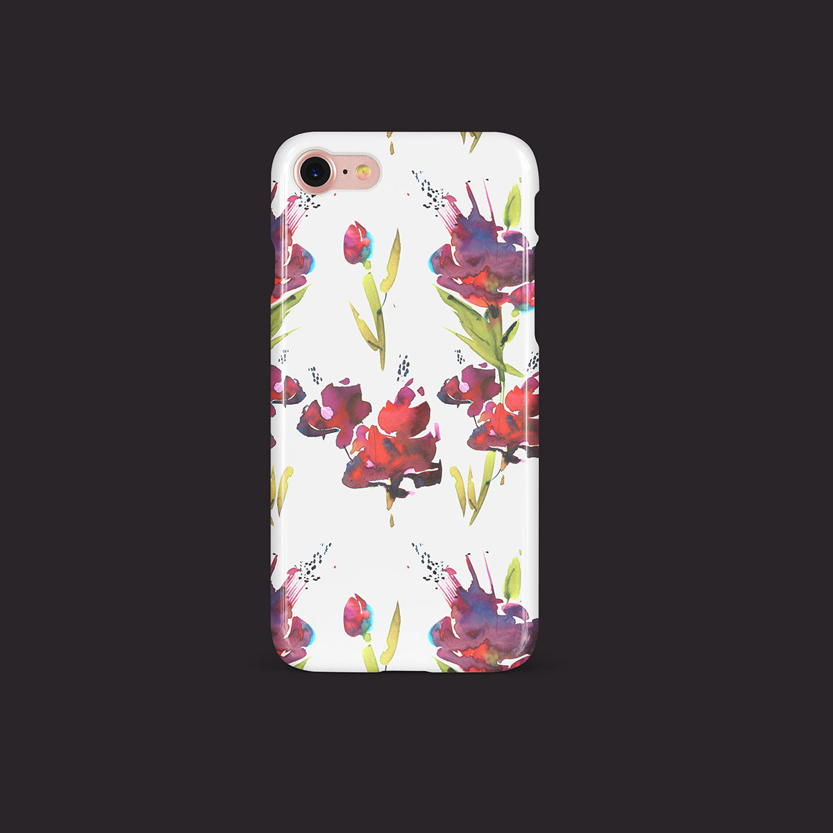 art creative Flowers graphicart pattern plants wallpaper watercolor