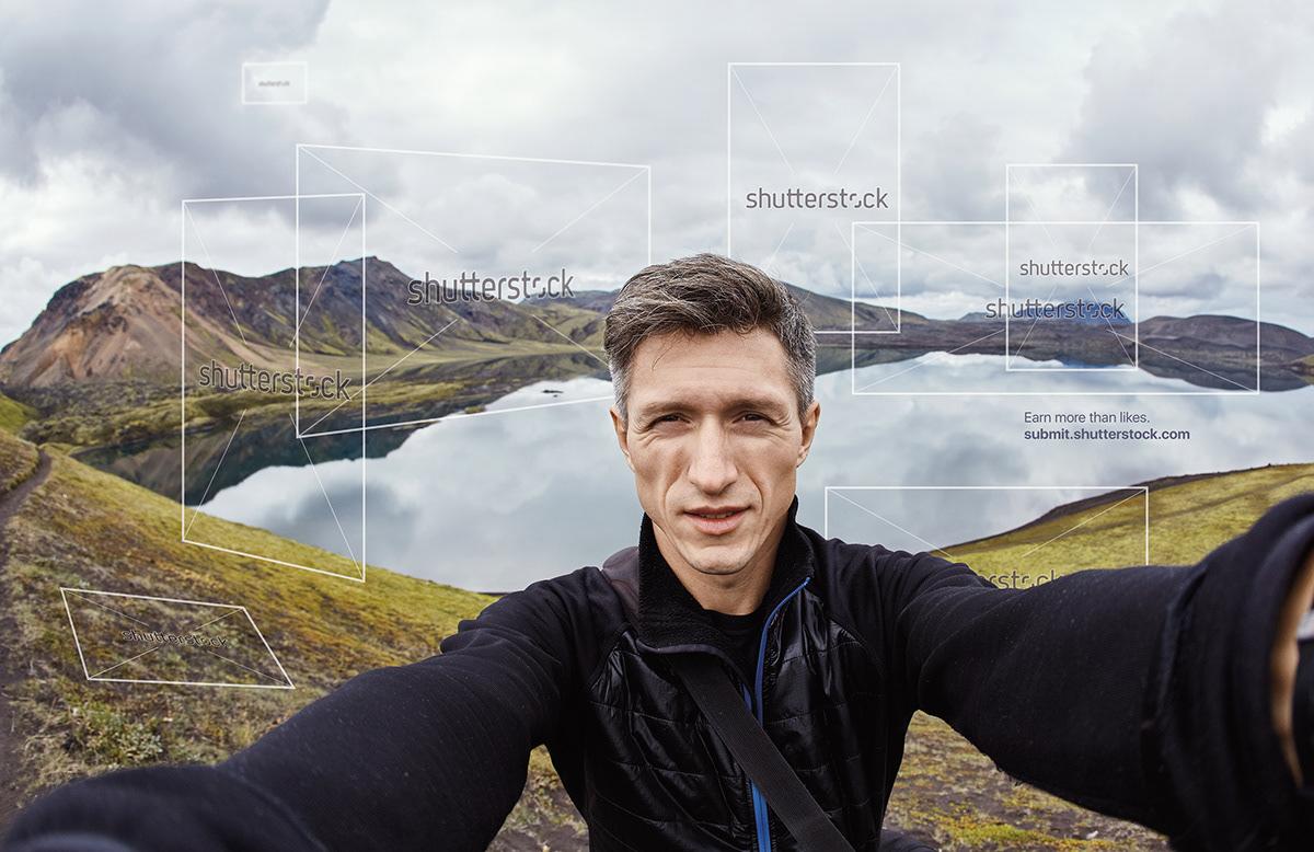 Shutterstock - Earn more than likes  on Behance