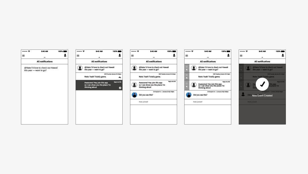 Gretchen Schwartz - Scheduling + Chat App