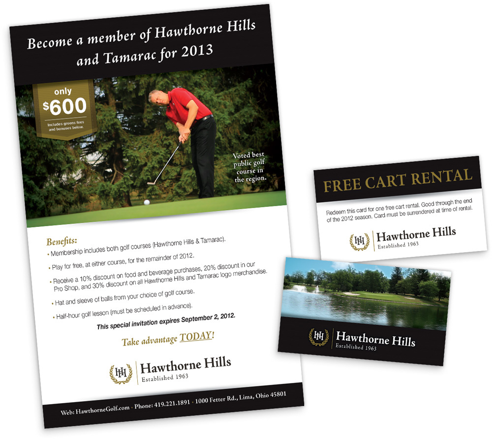 ThirtyTenDesigns - Hawthorne Hills Golf Course