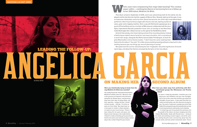 Angelica Garcia Magazine design music design Music Journalism alternative music Medicine for Birds Joey Wharton davy jones Backstage with Davy Warner Bros. Records