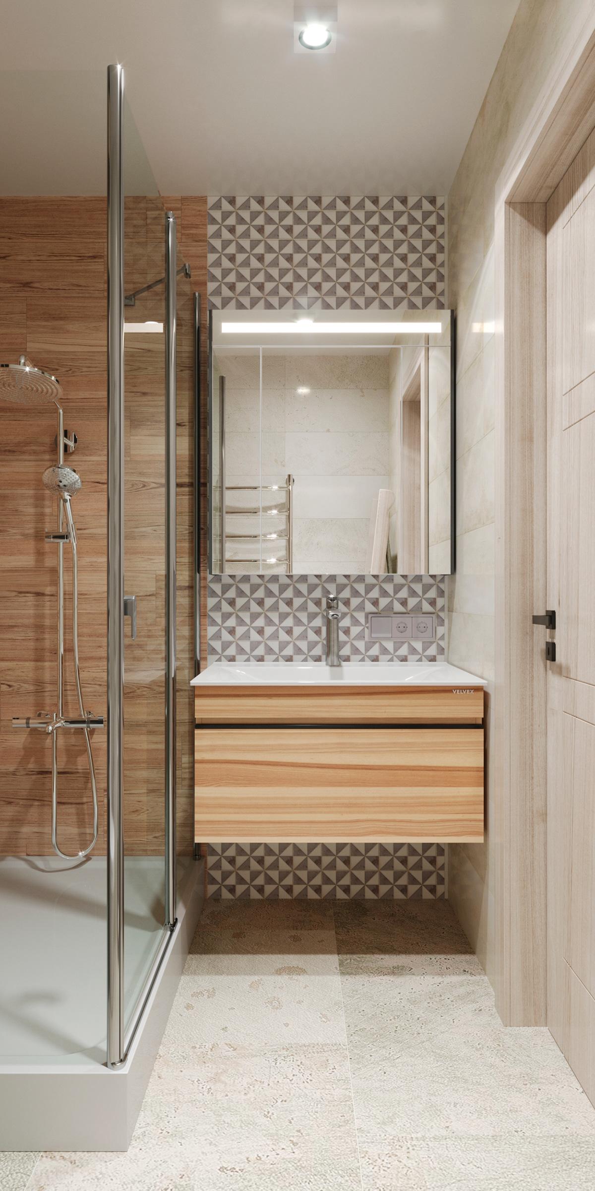Image may contain: floor, indoor and door