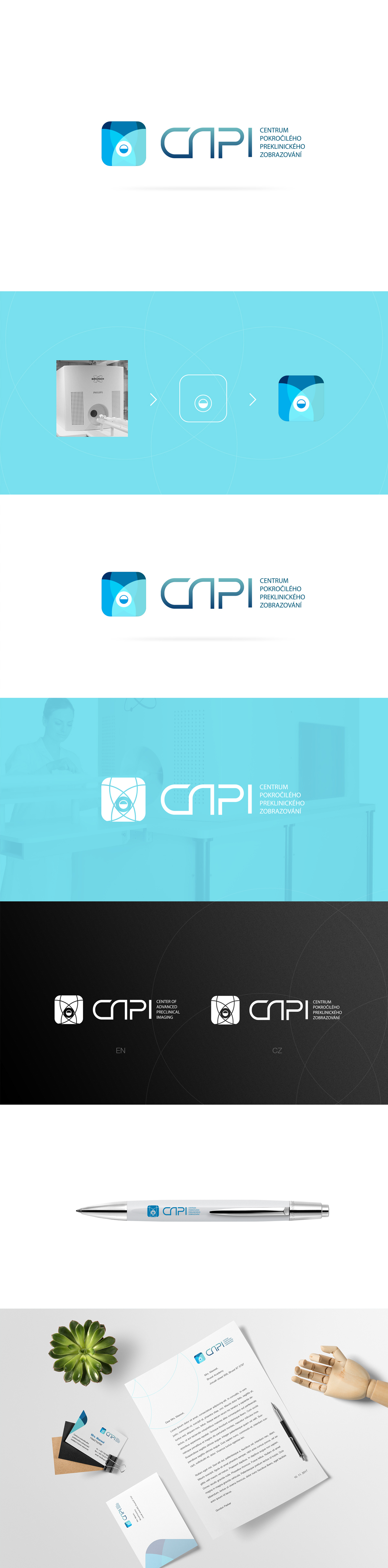 CAPI logo design on Behance