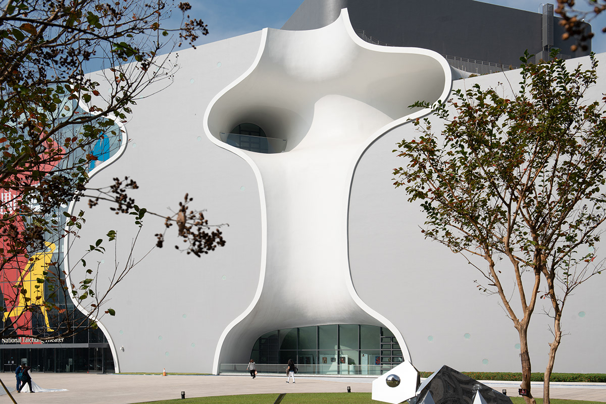 architectural photography architecture design taichung taiwan theater  Toyo Ito