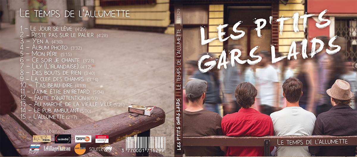 affiche flyer pochette Jacquette cd bandeau merchandising