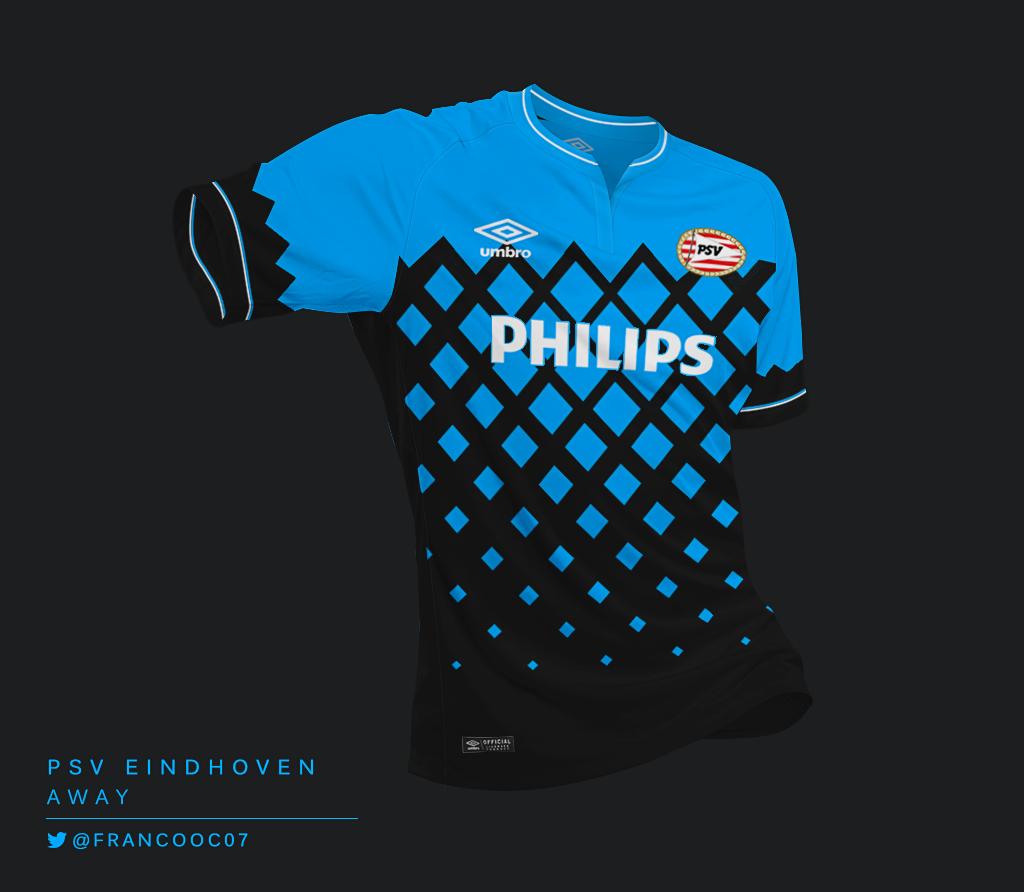 Talisman & Co. | Umbro PSV Away Kit Concept by Franco Carabajal | Soccer Hats