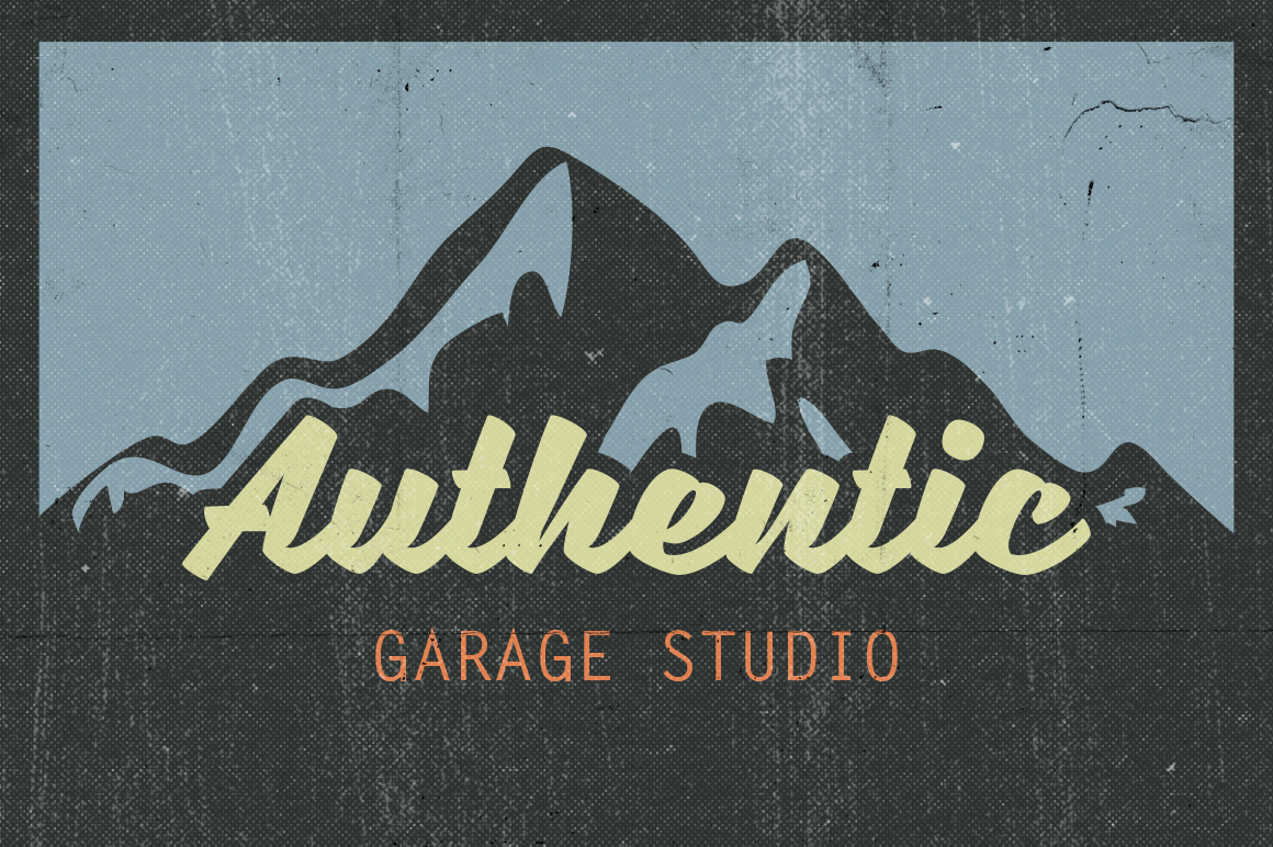 Retro vintage Free font font Typeface Script cursive Classic download Signage t-shirt sign logo identity Logotype