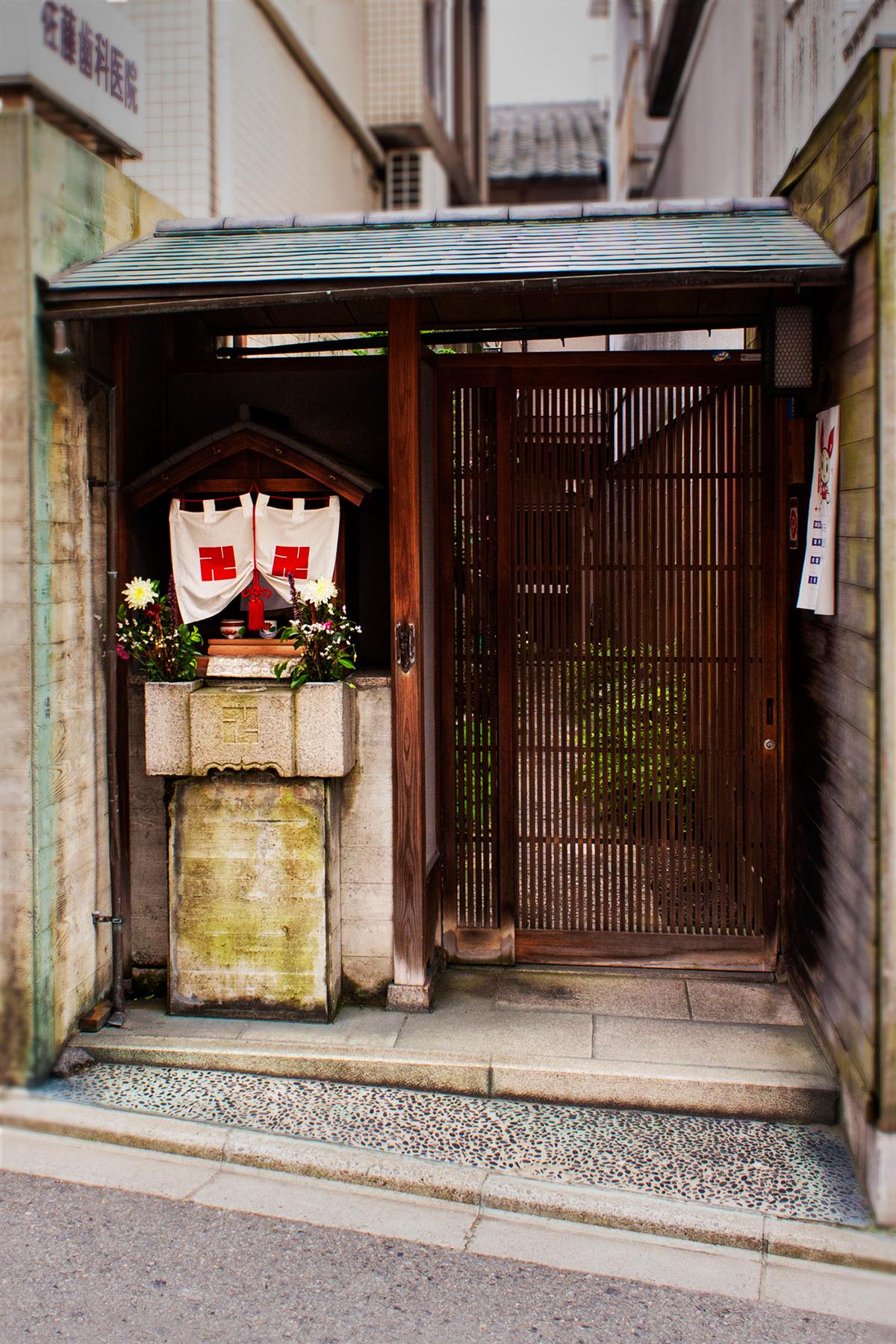 Shrine japanese shinto hokora worhip hokura kyoto osaka spiritualit