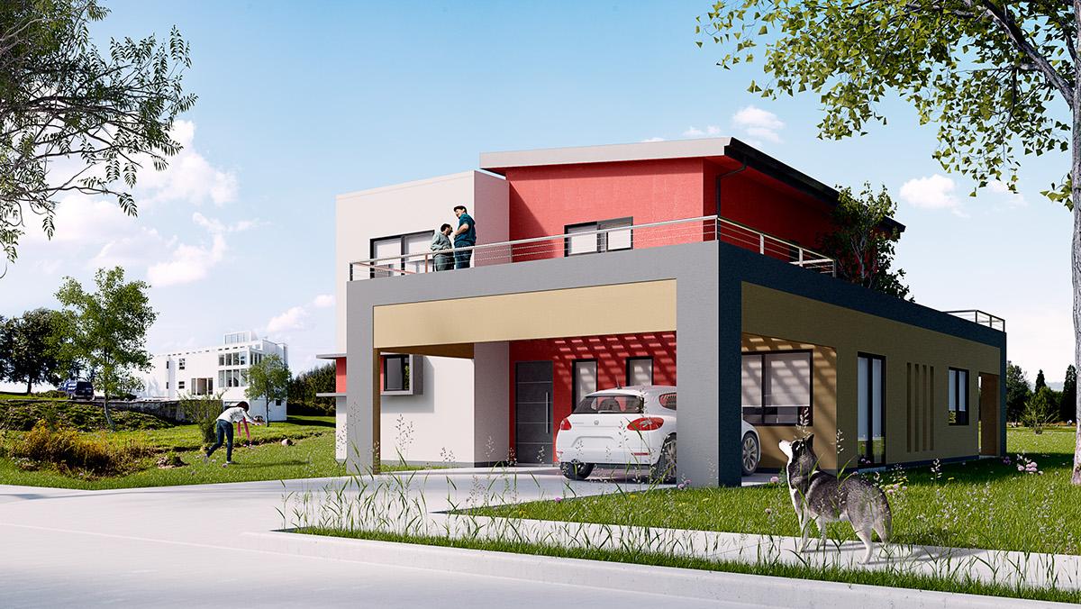 Viviendas related keywords viviendas long tail keywords for Modelo de fachadas de viviendas