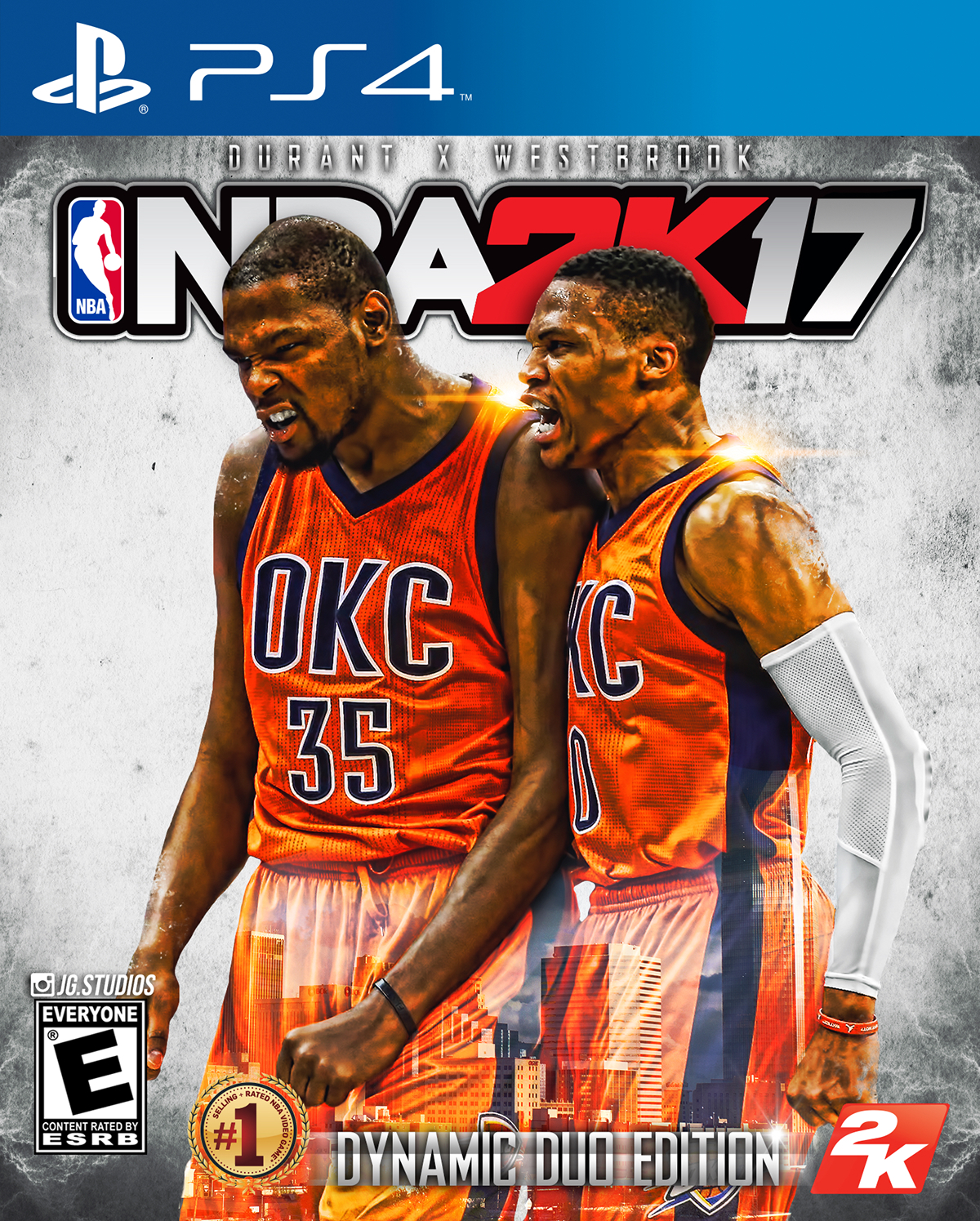 NBA 2K17 Cover Concepts on Behance