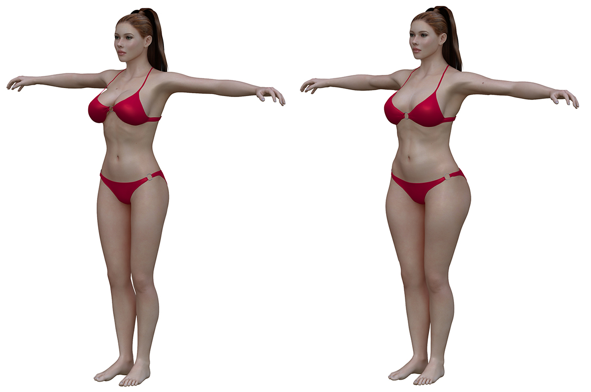 ideal to real what the perfect body really looks like - HD1200×796