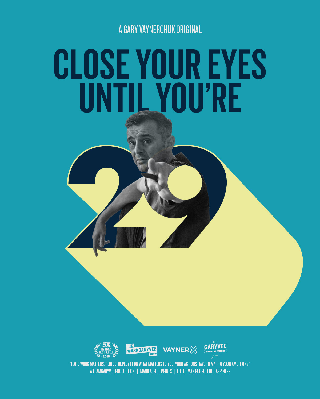 GaryVee movie poster poster ILLUSTRATION  typography   vintage type treatment Gary Vaynerchuk New York