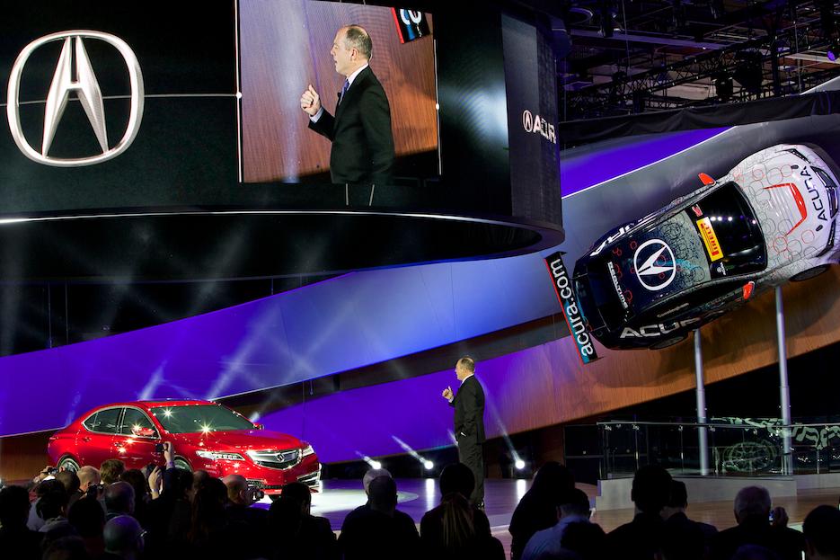 Acura Detroit Auto Show 2014 2015 On Behance